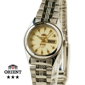 Orient South America model ladies automatic winding champagne TNQ1P003C