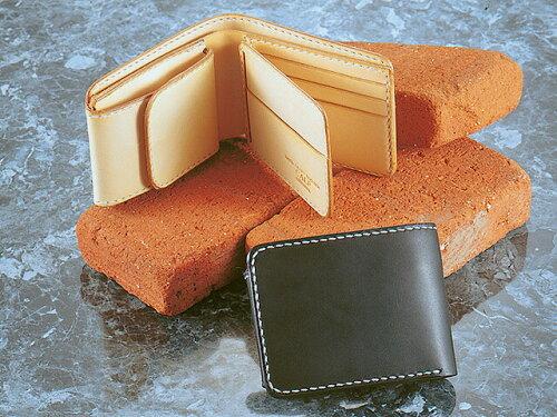 CALF/カーフ レザー カード ウォレット(手縫い) CALF-030