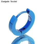 ZanipoloTerzini/ザニポロタルツィーニステンレスフーフピアスシングルZTE1502-BL