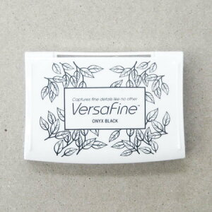 Versa Fine インクパッド Lサイズ Onyx Black