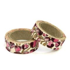 NEW!リバティプリントの布製テープLIBERTY PRINT マスキングテープ Eliza's (pink)