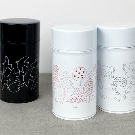 コーヒー缶 スリム M【茶筒 保存容器 おしゃれ 猫 雑貨 グッズ】