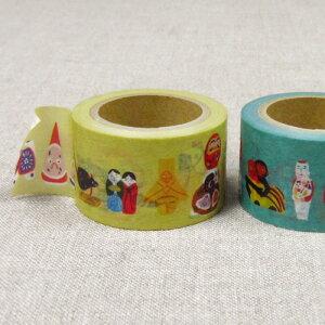 中川政七商店 日本全国郷土玩具マスキングテープ