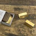 金属カード立 (真鍮ゴールド) H-3 メニュースタンド・卓上サイン・カード立 (8-1986-1601)