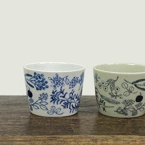 松尾ミユキ フリーカップ【デザートカップ 陶器 おしゃれ 食器 器】【鳥】
