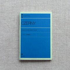 ピアノの楽譜を忠実に再現ピアノライブラリー ポケットノート ツェルニー