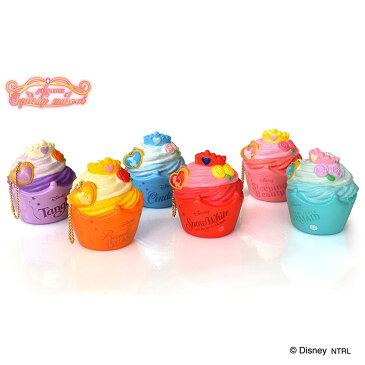 【送料無料】ディズニー プリンセス カップケーキ スクイーズ 全種セット
