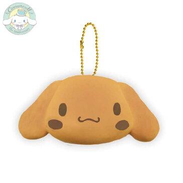 【SALE】シナモロールのぷにぷにマスコット 顔パン スクイーズ【雑貨 sanrio】【squishy】