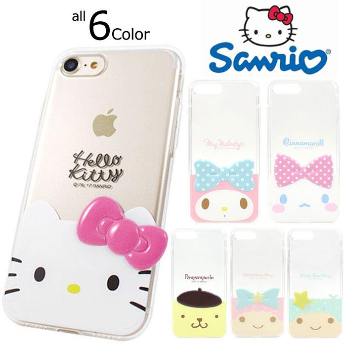 スマートフォン・携帯電話用アクセサリー, ケース・カバー Hello Kitty Friends Deco Jelly iPhoneSE iPhone6s iPhone5s iPhone5 iphone6plus iphone6splus iphone7plus iphone8plus iPhone 5 5s SE 6 6s Plus
