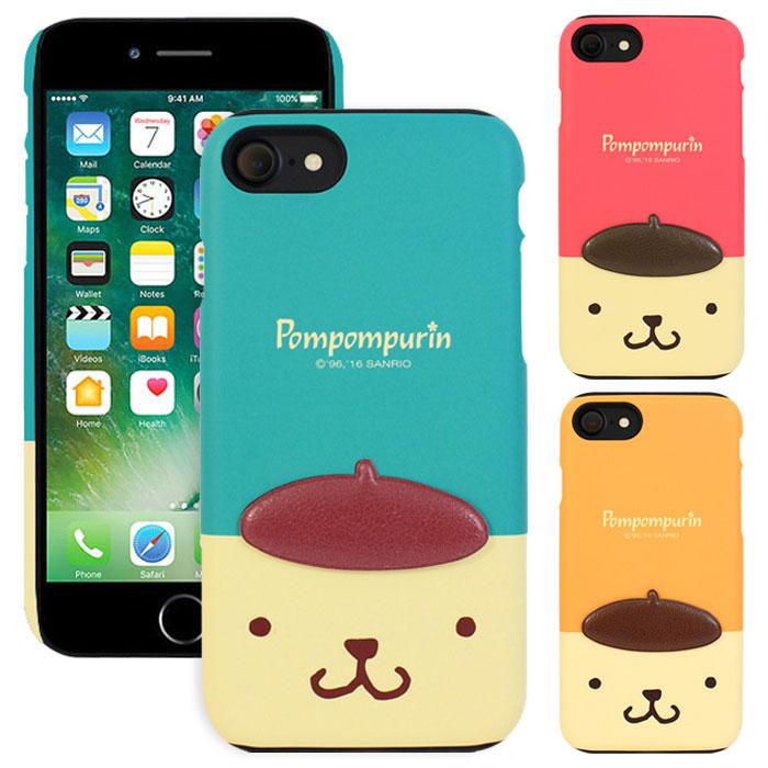 スマートフォン・携帯電話アクセサリー, ケース・カバー Pompompurin Deco Double Bumper iPhone 6s 6sPlus 6 6Plus SE1 5 5s SE Plus