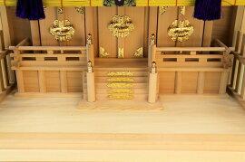 【神具】ガラス箱宮本雅神殿(神棚)
