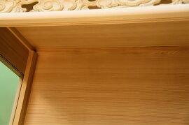 【神具】神棚中型サイズ用神棚ケース吊り金具付き