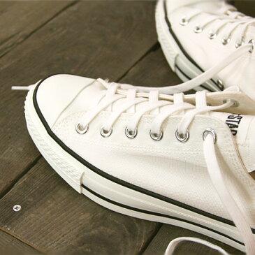 10/3再入荷 【こだわりの made in JAPAN 日本製 】【日本正規取扱店】 CONVERSE CANVAS AS J OX コンバース オールスター キャンバス オックス WHITE 白 メンズ レディース スニーカー