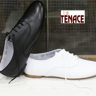 La TENACE 靴 ラ・テナーチェ 869 VITELLO GALAXY NERO(ブラック) BIANCO(ホワイト)   レディース ladies shoes