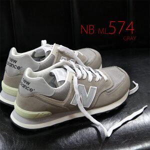 newbalanceML574VGGRAYグレーニューバランスML574VGスニーカースエード【メンズ】