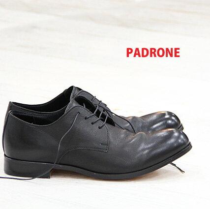 4/26再入荷 PADRONE 靴 DERBY PLAI...