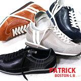 【 新色加えた spot カラー 4色 】 【 正規取扱店 】 PATRICK sneaker BOSTON-L2 528262(NVY) 528263(BRN) 528265(MOCA) BLK(528961) パトリック ボストン スニーカー 【 スタジアム マラソン に並ぶ人気 】 メンズ レディース