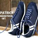 【★交換送料片道無料★】 【★交換送料片道無料★】 【★あす楽★】【正規取扱店】【spot カラー】 PATRICK sneaker MARATHON-WT NV(502542) パトリック スニーカー マラソン ウールタッチ レディース メンズ スニーカー