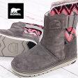 【 セール sale 】 国内正規品 SOREL NEWBIE NL2147-245 MAJOR/MAJYOR ソレル ニュービー レディース スノーブーツ ladies boots
