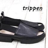 【 セール sale 】 【 日本正規取扱店 】 trippen 靴 ALLEE WAW WAX 61 トリッペン レディース サンダル スリッポン