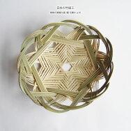 【日本の竹細工】蜘蛛の巣編み盛り籠花編み直径30cm