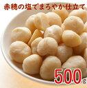 マカダミアナッツ ロースト 塩味 500g 製造直売 赤穂の焼き塩でまろやか仕立て グルメ みのや その1