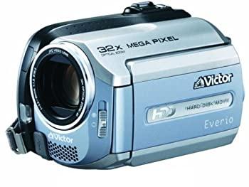 【中古】JVCケンウッド ビクター Everio エブリオ ビデオカメラ ハードディスクムービー 30GB GZ-MG155-A