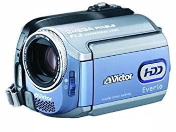 【中古】JVCケンウッド ビクター Everio エブリオ ビデオカメラ ハードディスクムービー 30GB GZ-MG255-A