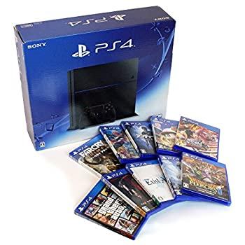 【中古】(中古セット)PlayStation 4 ジェット・ブラック (CUH-1200AB01) + ソフト10点