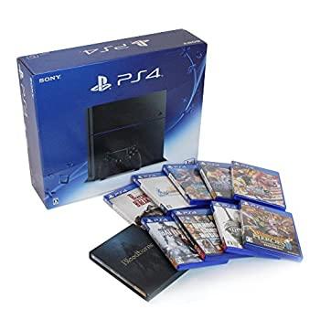 【中古】(中古セット)PlayStation 4 ジェット・ブラック 1TB (CUH-1200BB01) + ソフト10点