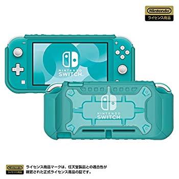 中古 (任天堂ライセンス商品)タフプロテクターforNintendoSwitchLiteクリア?ターコイズ(NintendoS