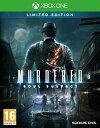 【中古】Murdered: Soul Suspect Limited Edition (Xbox One) (輸入版)