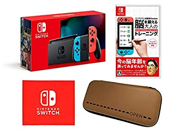 【中古】Nintendo Switch 本体 (ニンテンドースイッチ) Joy-Con(L) ネオンブルー/(R) ネオンレッド(バッテリー持続時間が長くなったモデル) & 東北大学加