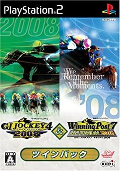 【中古】ジーワンジョッキー4 2008 & ウイニングポスト7 2008 ツインパック
