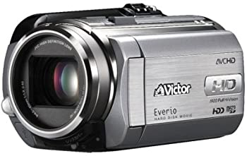 【中古】JVCケンウッド ビクター 80GBハイビジョンハードディスクムービー プレシャスシルバー GZ-HD30-S