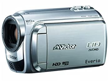 【中古】JVCケンウッド ビクター 60GBハードディスクムービー シルバ- GZ-HD300-S