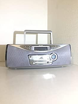 【中古】SHARP シャープ SD-FX10-S シルバー 1ビットCD/MDシステム(ラジカセ形状タイプ)