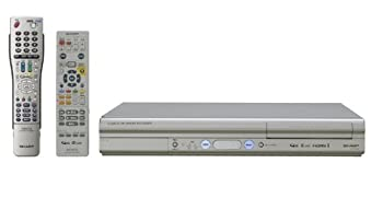 【中古】SHARP AQUOS 地上・BS・110度CSデジタルハイビジョンチューナー内蔵 HDD&DVDレコーダー 400GB DV-AC34