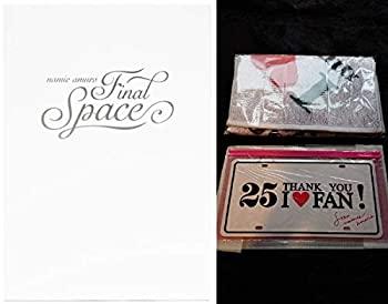【中古】安室奈美恵3点セット アーカイブパンフレット&フェイスタオル&Final Spaceナンバープレート