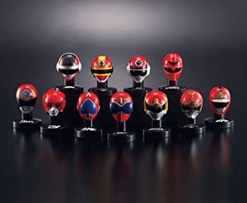 【中古】スーパー戦隊シリーズ スーパー戦隊マスクコレクションI 赤の伝説 マスコレ ヒーロー レッド 箱玩 バンダイ(全11種フルコンプセット)画像