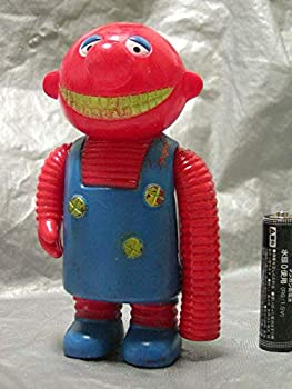 【中古】がんばれロボコンb49-1 ポピー 当時物 ソフビ人形 ロボパー1977年画像