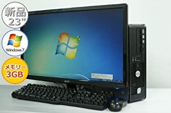 パソコン, デスクトップPC  23 DELL OptiPlex 760 SFF Core2Duo-2.80GHz 3GB 250GB DVD Windows7