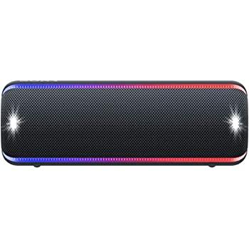 【中古】ソニー SONY ワイヤレスポータブルスピーカー SRS-XB32 : 防水 / 防塵 / 防錆 / Bluetooth / 重低音モデル ライティング機能搭載 2019年モデル