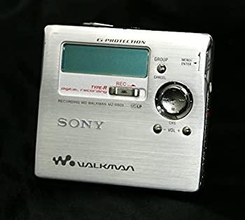 【中古】SONY ソニー MZ-R909 シルバー MDレコーダー MDLP対応 (MD録音再生兼用機/ポータブルMDプレーヤー/ポータブルミニディスクレコーダー)
