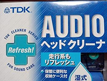 【中古】TDK オーディオヘッドクリーナー 湿式 HCW-22UF