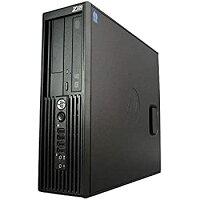 【中古】パソコンWindows10デスクトップ一年HPZ220SFXeonE3-1225V23.2(~最大3.6)GHzMEM:8GBHDD:1TBDVD-マルチグラフィックボード搭載Win1