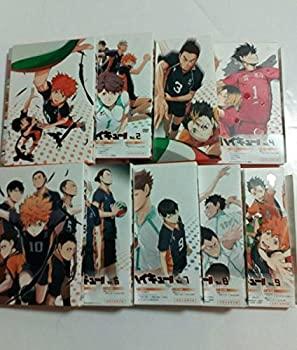 【中古】特典完備 ハイキュー DVD 初回限定版 1st+2nd Vol1〜Vol9 全巻セット 全18巻