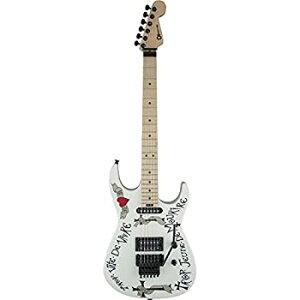 【中古】CHARVEL Warren Dema Warren Demartini USA Signature Frenchie Snow White エレキギター