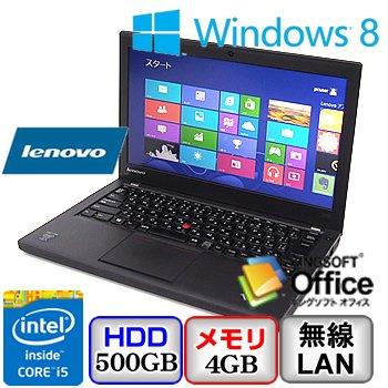 パソコン, ノートPC Lenovo ThinkPad X240 20AMS13U00 -Windows 8 64bit Core i5 1.6GHz 4GB 500GB 12.5(B0608N118)