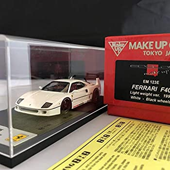 おもちゃ, その他  143 make up eidolon F40 Light weigt Ferrari white Black wheel